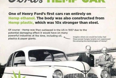 Henry Ford's Hemp Car