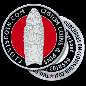 Clovis Coin Challenge Coins
